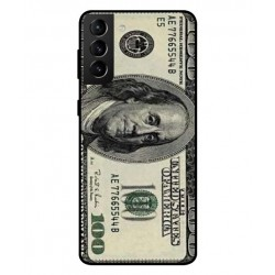 Durable 100 Dollar Note Cover For Samsung Galaxy S21