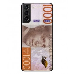 Durable 1000Kr Sweden Note Cover For Samsung Galaxy S21