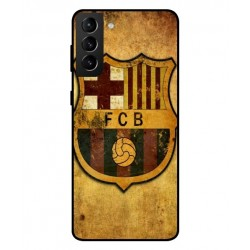 Durable FC Barcelona Cover For Samsung Galaxy S21 Plus