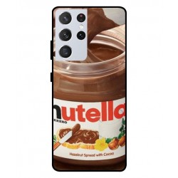 Durable Nutella Cover For Samsung Galaxy S21 Ultra