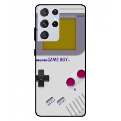 Durable GameBoy Cover For Samsung Galaxy S21 Ultra