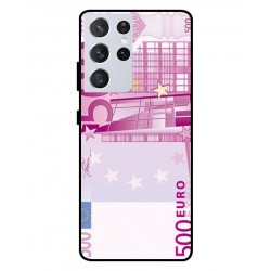 Durable 500 Euro Note Cover For Samsung Galaxy S21 Ultra