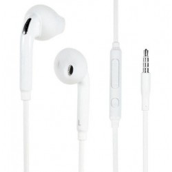 Earphone With Microphone For Samsung Galaxy M12